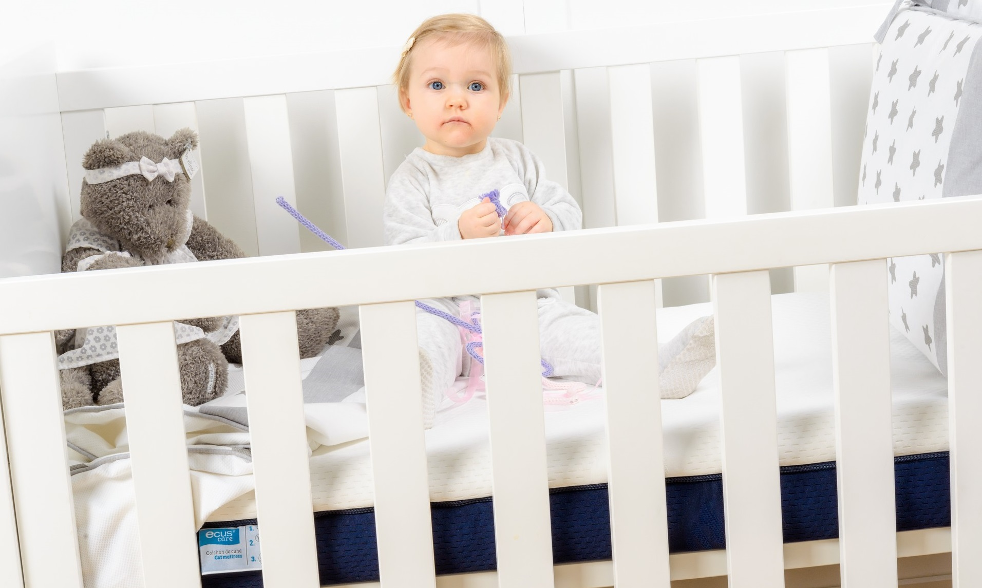 Ecus Kids - The anti-suffocation crib mattress that prevents plagiocephaly